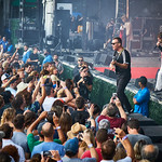 Sat, 17/08/2019 - 7:19pm - Cage the Elephant Live on WFUV Radio from Forest Hills Stadium in New York City, 8/17/19. Photo by Gus Philippas/WFUV