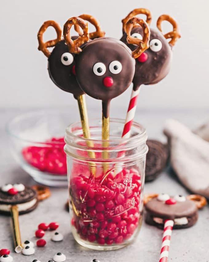 chocolate renos Navidad