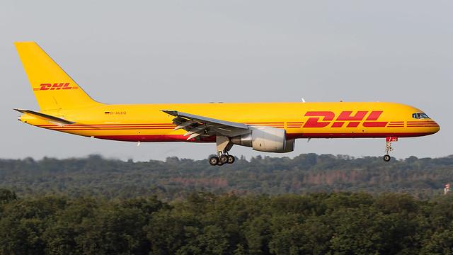 D-ALEQ EAT Leipzig Boeing 757-2Q8(PCF)