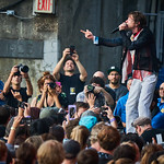 Sat, 17/08/2019 - 7:16pm - Cage the Elephant Live on WFUV Radio from Forest Hills Stadium in New York City, 8/17/19. Photo by Gus Philippas/WFUV