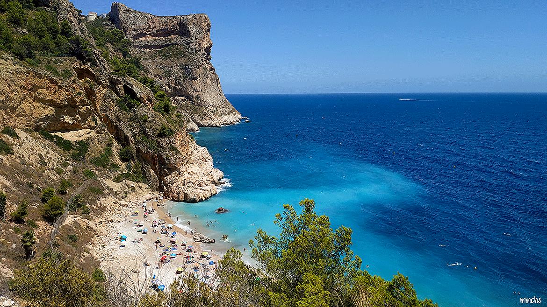 Cala Moraig, en Benitatxell, un paraíso de la costa Mediterránea