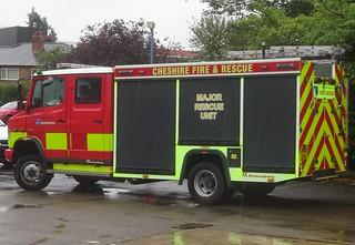 Cheshire Fire & Rescue Service (DK61 EXA)