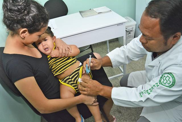 Vacina Pentavalente estará disponível a partir desta quarta-feira