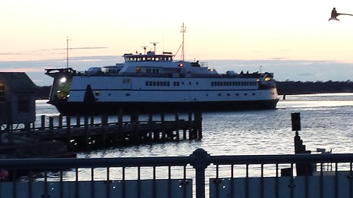 ferry woodshole falmouth ocean docks massachusetts