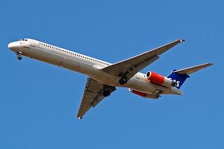 LN-RLF   McDonnell-Douglas DC-9-82 (MD82) [49383] (SAS Scandinavian Airlines) Home~G 16/08/2009