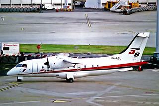 LN-ASL   Dornier Do.328-110 [3069] (Air Stord) Paris-Orly 16/06/1997