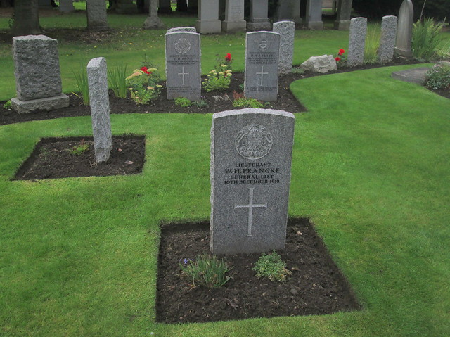 War Grave Group, Comely Bank Cemetery, Edinburgh