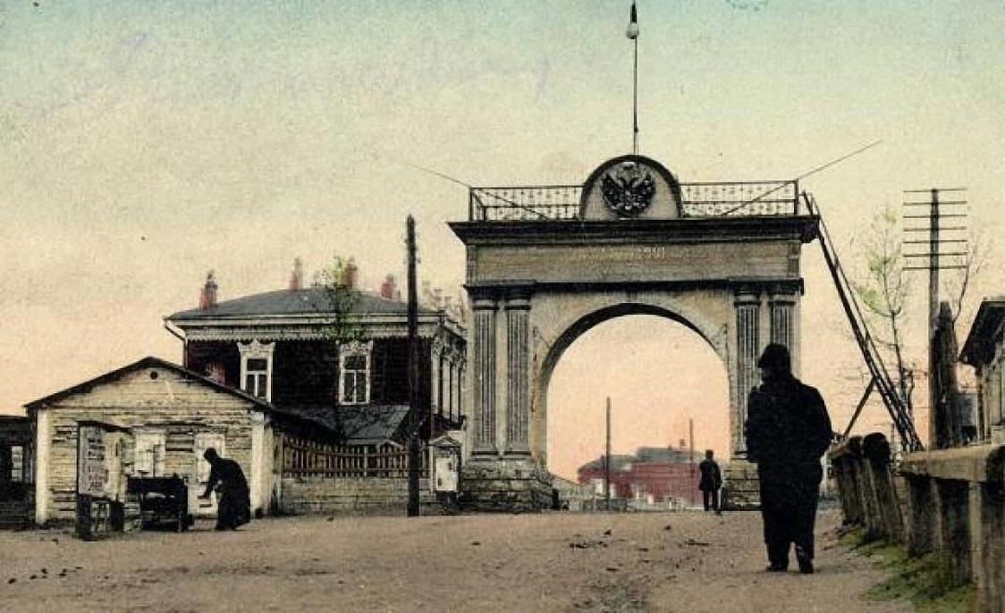 Верхнеудинск. Триумфальная арка с другой стороны