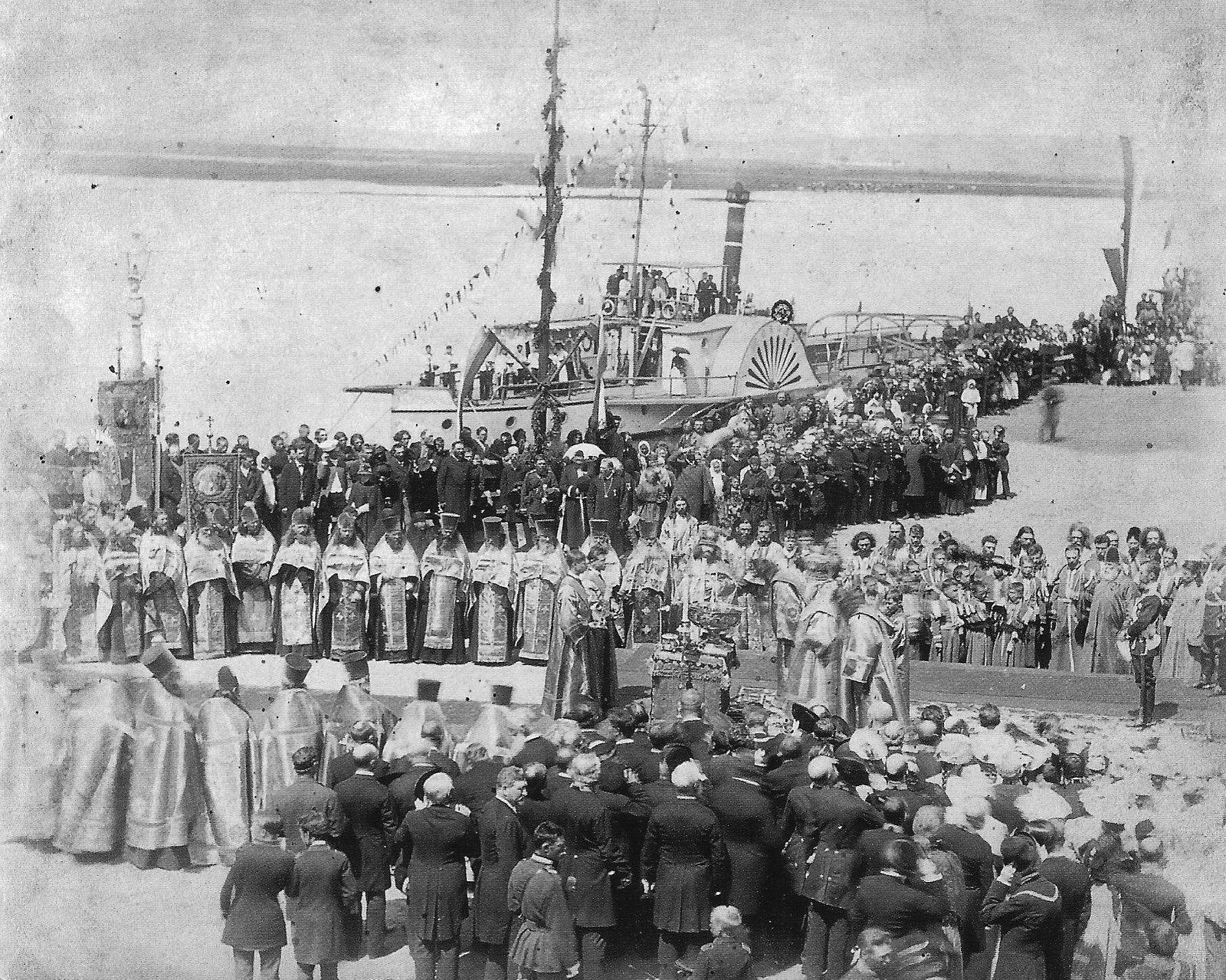 1891. Иркутск. Торжественная встреча наследника российского престола