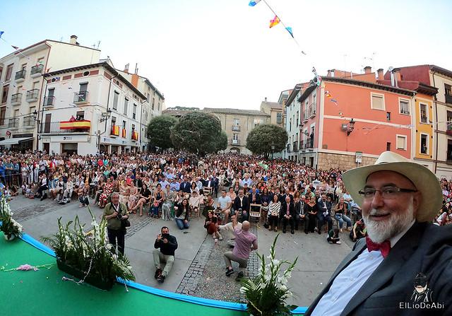 Acto inaugural de las Fiestas de Briviesca 2019