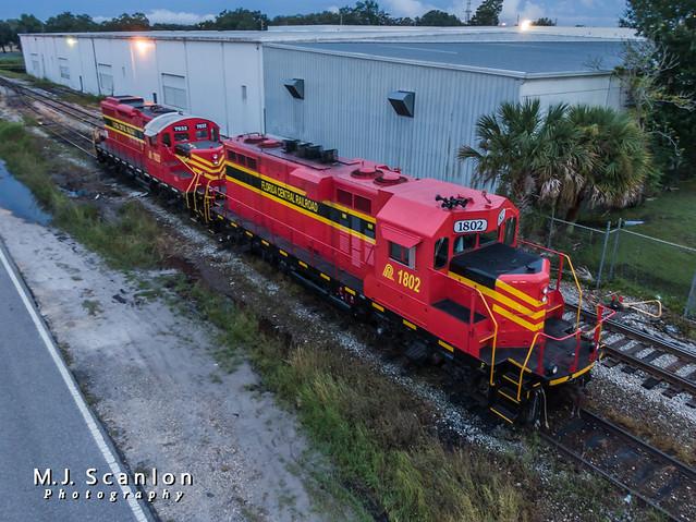 FCEN 1802 | EMD GP11 | Florida Central Railroad