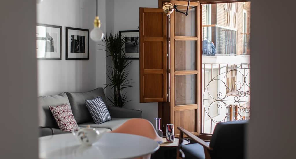 Appartement Valencia: Bubuflats Mercat | Mooistestedentrips.nl