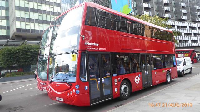 P1170630 OME2657 YJ19 HVH at Warren Street Station Hampstead Road Euston London