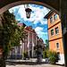 Meersburg - Blick auf das Schloss