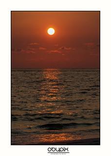 Sunset at AMI