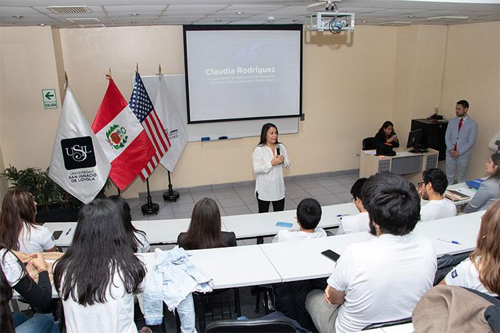 USIL realizó despedida para estudiantes del programa Study Abroad 2019