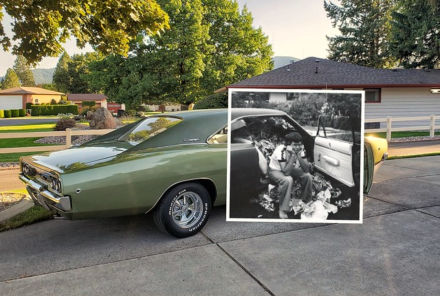 1968 Dodge Charger R/T - I Guess She Likes Me (The Scene of the Crime - Now and Then)
