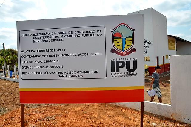 Matadouro Público (Inauguração da 1ª etapa)