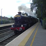The Shakespeare Express, Lapworth railway station