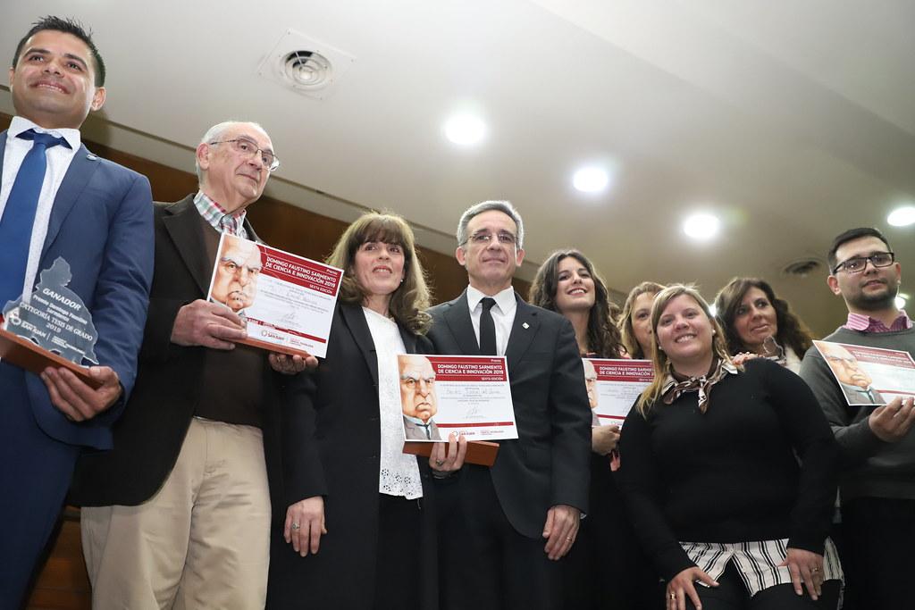 """2019-08-21 PRENSA: Acto Entrega de Premios """"Domingo Faustino Sarmiento Ciencia e Innovación 6° Edición 2019"""""""