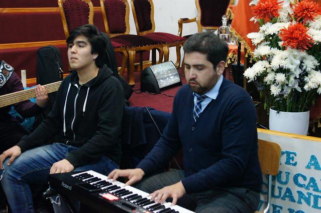 Ensayo de Coro Masivo UNIPECH Molina