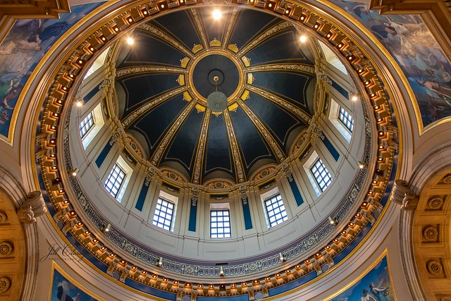 Minnesota Capitol Building Dome
