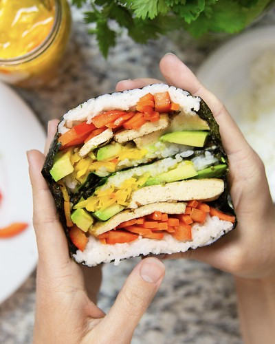 Easy Vegan Sushi Wraps