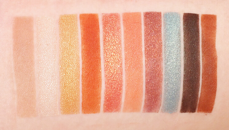 wet n wildcolour icon not a basic peach swatches