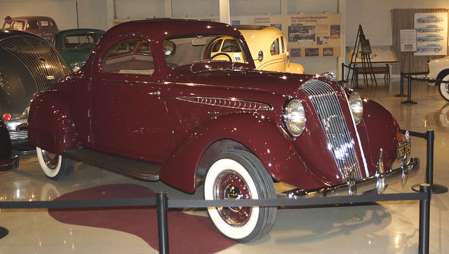 1936 Hupmobile 618-G (Aerodynamic)