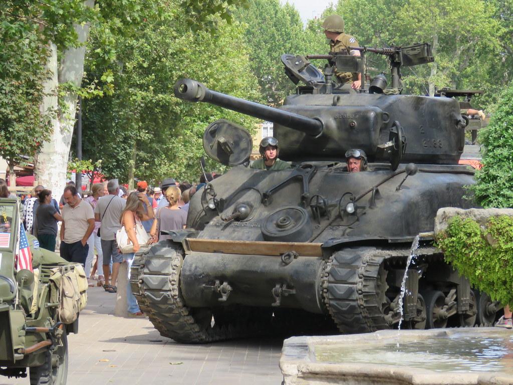 Libération AIX EN PROVENCE 21/08/2019 - Le défilé et la cérémonie