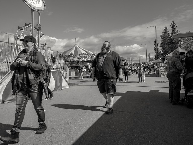 Tanana Valley State Fair (BW), Fairbanks Alaska: 08/04/2019
