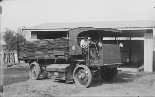 queensland statelibraryofqueensland photographers womenphotographers plywood electrictruck electricvehicle ransomeselectric ransomessimsandjefferies