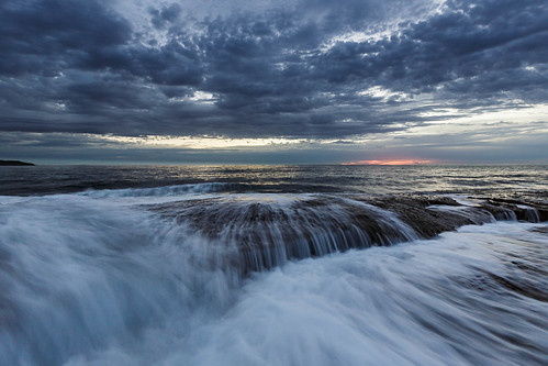 sydney newsouthwales australia dee why beach flow waves sunrise cloud dawn nsw canon