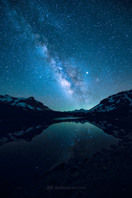 Milky Way over Tioga Lake