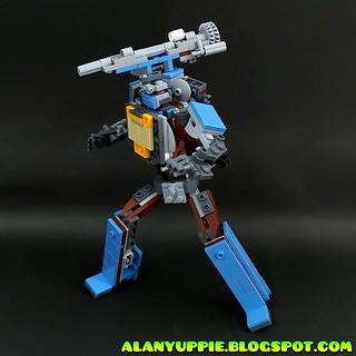 LEGO Transformer Microscope from set 70842