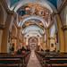 Interior de la Catedral de la ciudad de Trujillo (Perú).