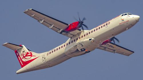 Alliance Air (Air India Regional) Aerospatiale ATR72 VT-RKC Bangalore (BLR/VOBL)