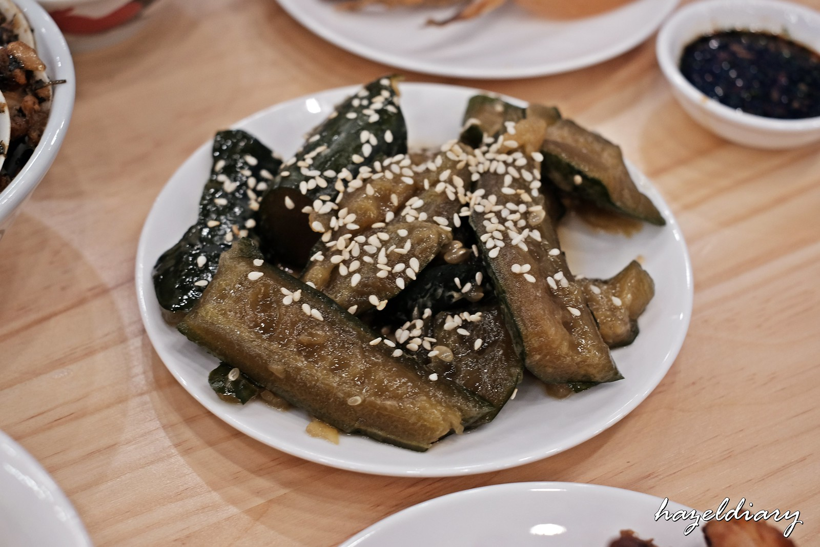 The Salted Plum-Braised cucumber