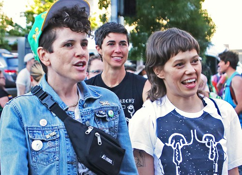 Faces of the Dyke March