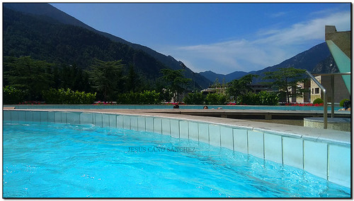 Caldea a l'aire lliure, Escaldes-Engordany (Andorra)