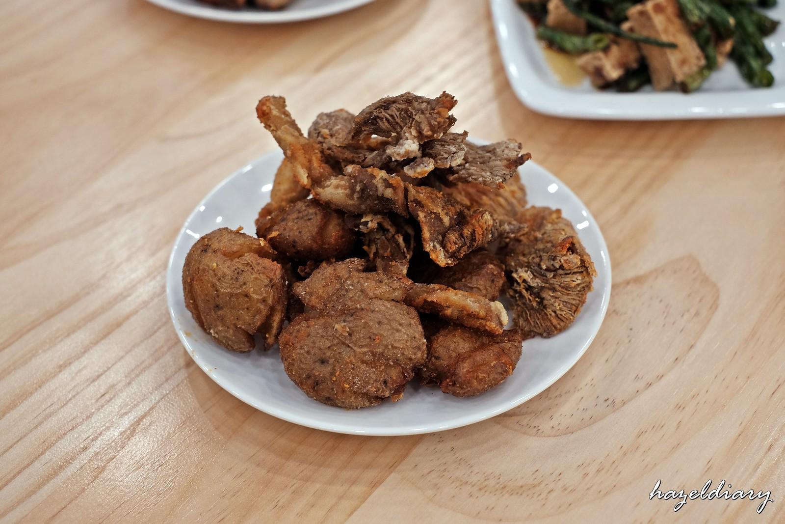 The Salted Plum-Oysters Mushroom