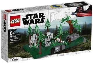 恩多樹海的刺激戰鬥超濃縮! LEGO 40362《星際大戰六部曲:絕地大反攻》恩多戰役 – 20 週年紀念版 Battle of Endor – 20th Anniversary Edition