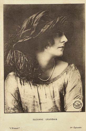 Suzanne Grandais in L'essor (1921)