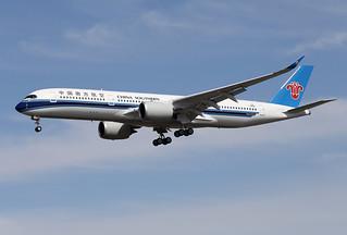 China  Southern  Airlines / Airbus   A 350-900   F-WZNB   msn 334  (B-309W) / LFBO - TLS / août 2019