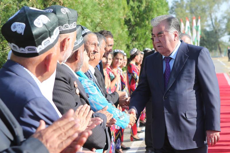 Истиқболи меҳмони олиқадр дар ноҳияи Зафаробод  22.08.2019