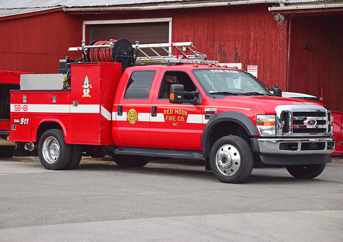 fire truck ny red hook dutchess county convention parade ford brush forestry new york