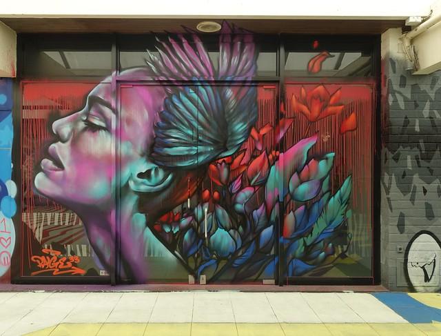 The Hague Street Art op Kijkduin