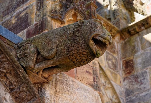 Scotland / Rosslyn Chapel / Gargoyle