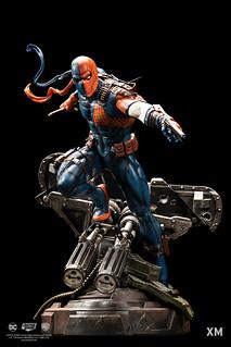 來勢洶洶的超強傭兵!XM Studios Premium Collectibles 系列 DC Rebirth【喪鐘】Deathstroke 1/6 比例全身雕像作品