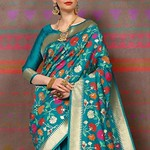 CRAFTLY CLASSIC WEAR SILK SAREES COLLECTIONS FOR ALL SERIES 70083 TO 70087